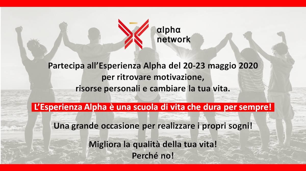 Esperienza Alpha 18-21 marzo 2020