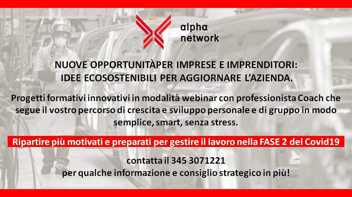 Fase 2 Covid19 nuove opportunita per imprenditori