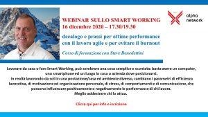 webinar Smart Working